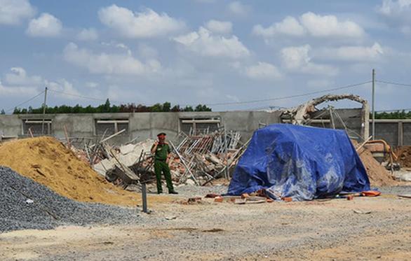Vụ sập tường ở Đồng Nai